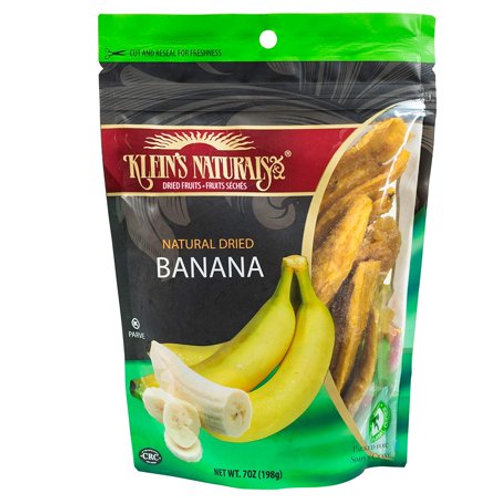 Klein's Banana Natural Dried 7oz