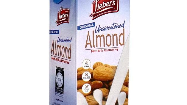 Lieber's Almond Milk (Unsweetened) 32 oz.