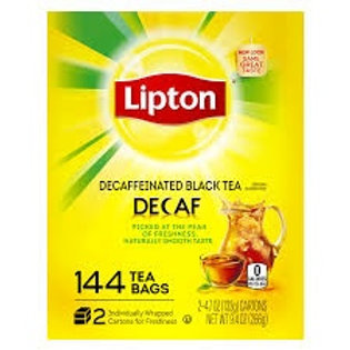 Lieber's Decaffeinated Tea Bags 48ct