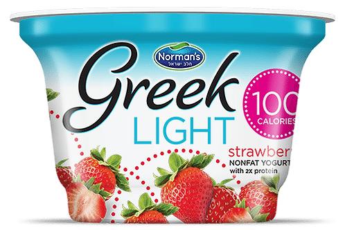 Norman's Greek Light - Strawberry 5.3 Oz.