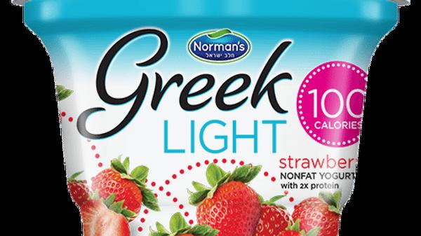 Norman's Greek Light - Strawberry 5.3 Oz.