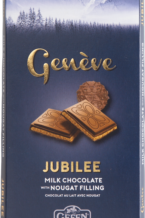 Gefen Geneve Milk Chocolate Bar With Nougat
