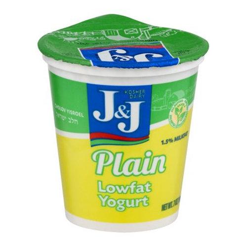 J&J  Plain  Yogurt 7oz
