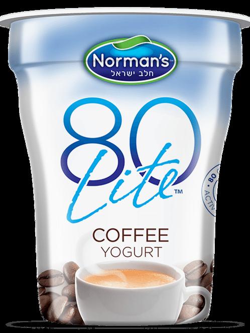 Norman's 80Lite Coffee Yogurt 6 Oz.