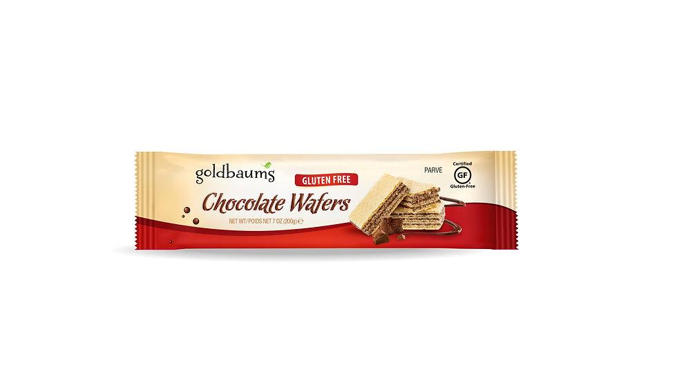Goldbaums Chocolate Wafers Uncoated 7 oz.