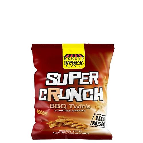 Paskesz Supercrunch BBQ Twirls 1.05oz