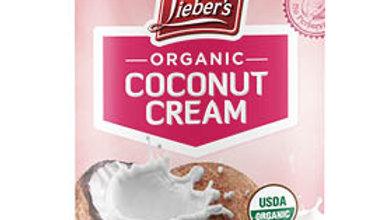 Lieber's Organic Coconut Cream 13.5 oz.