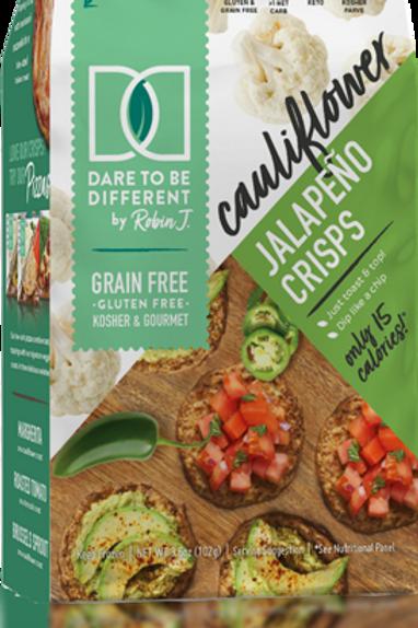 Dare Cauliflower Crisps Jalapeno 3.6oz