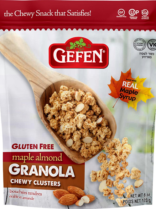 Gefen Maple Almond Chewy Granola Clusters