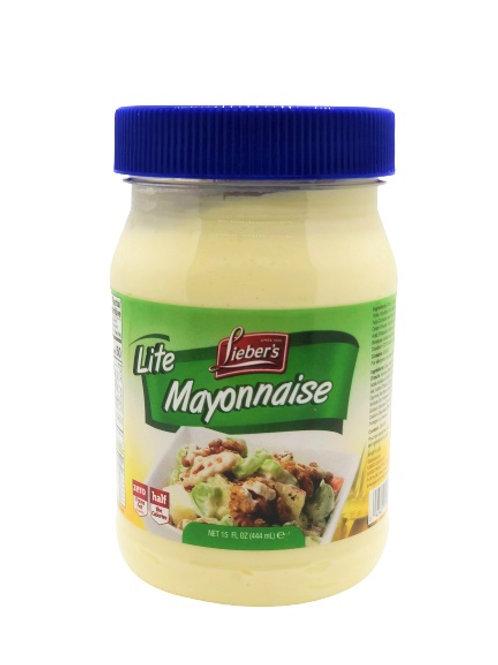 Lieber's Mayonnaise Light 15 oz.
