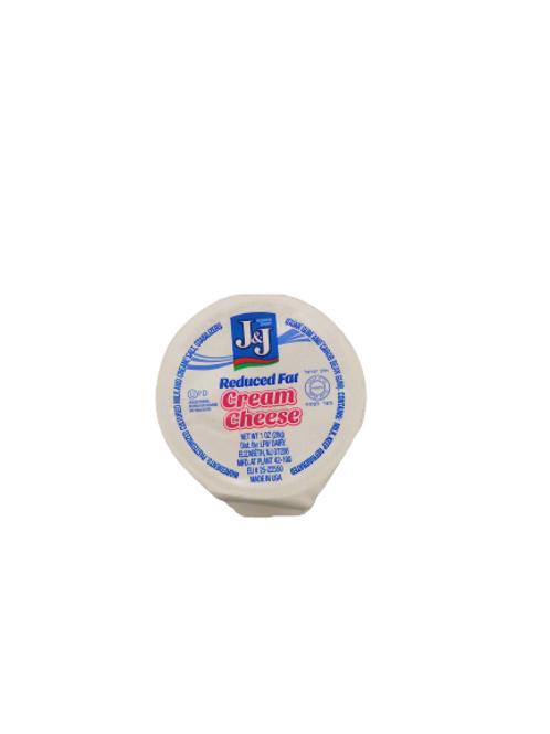 J&J  Cream Cheese Lite 1 oz.  1oz