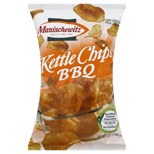 Manischewitz Kettle Chips BBQ 6oz