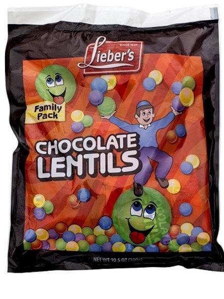 Lieber's Choco Lentils(mini bags) 12/25 gr.