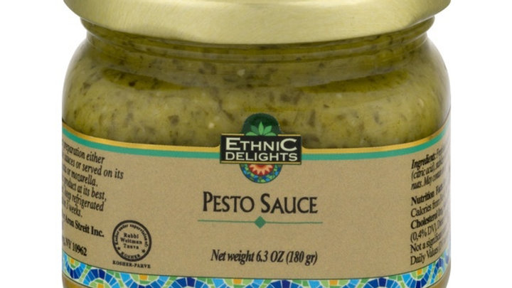 Ethnic Delights Pesto Sauce Kitniot 6.4 Oz