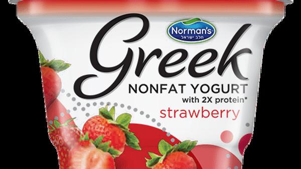 Norman's Greek - Strawberry 6 Oz.