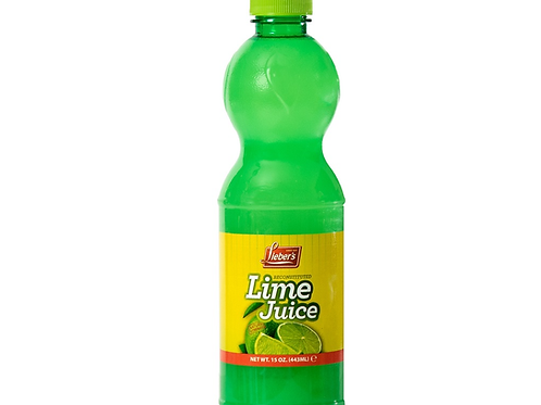 Lieber's Lime Juice 15 oz.