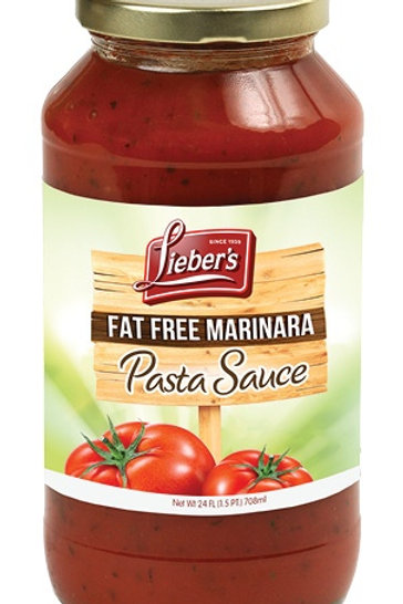 Lieber's Fat Free  Classic  Pasta Sauce 24 oz.
