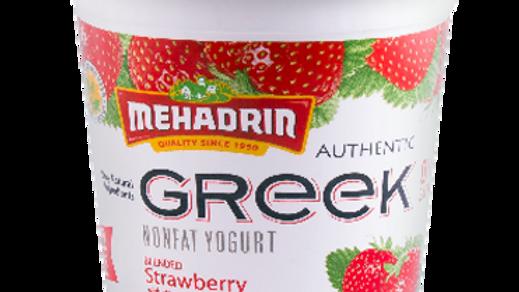 Mehadrin  Strawberry  Greek Yogurt 32oz