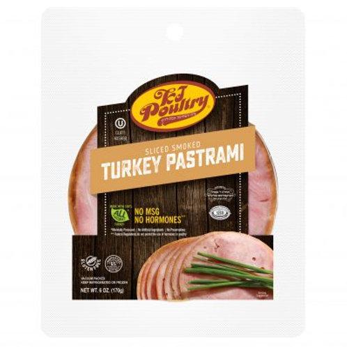 KJ Sliced Turkey Pastrami 6oz