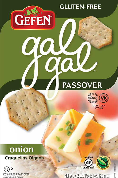 Gefen Onion Gal Gal Crackers 4.2oz