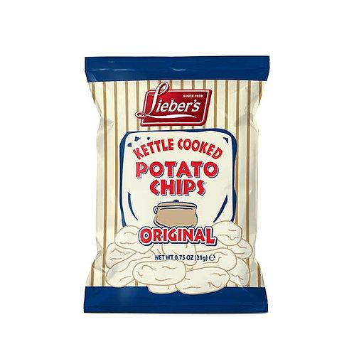 Lieber's Kettle Chips .75 oz.