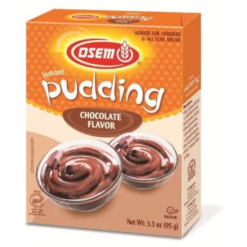 Osem Instant Pudding Chocolate 3.3oz