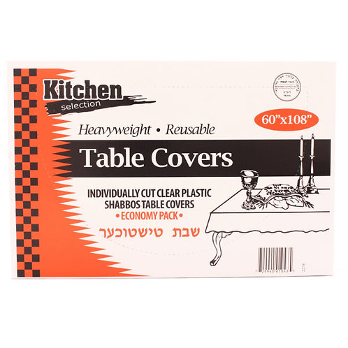 """K.C. Table Covers 60""""x108"""""""