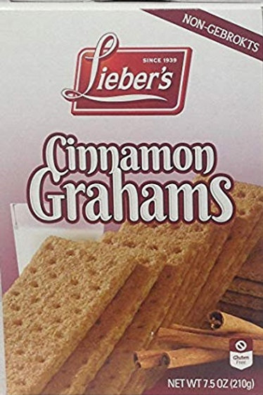 Lieber's Cinnamon Grahams 7.5 oz.