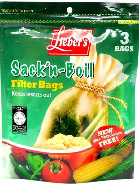 Lieber's Sack-n-Boil Insect Bags 3 ct.
