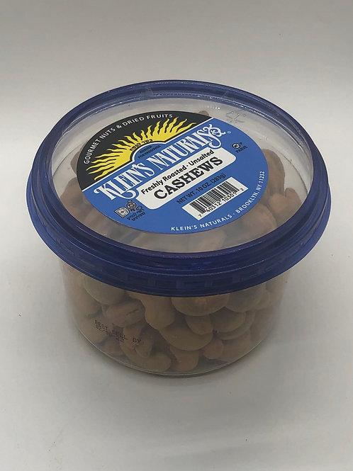 Klein's Cashews Roasted Unsalted 10oz