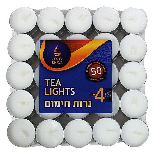 L'hava Tea Lights 50ct