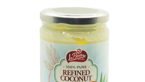 Lieber's Refined Coconut Oil 16.9 oz.