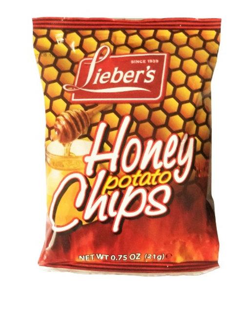 Lieber's Honey BBQ Potato Chips .75 oz.