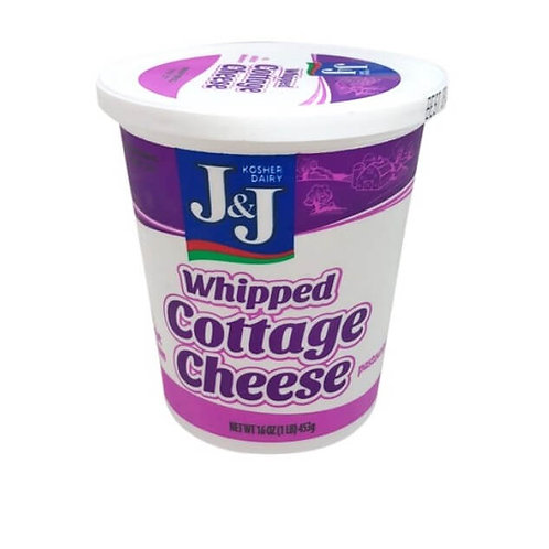 J&J  Whipped Cottage Cheese 16oz