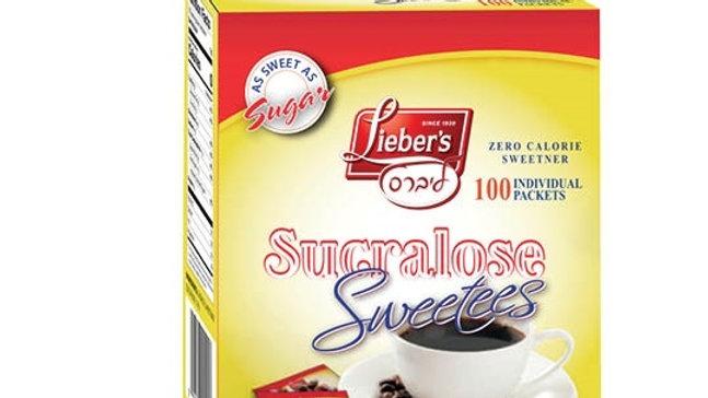 Lieber's Sweetees Sucralose Sachets 100/1g