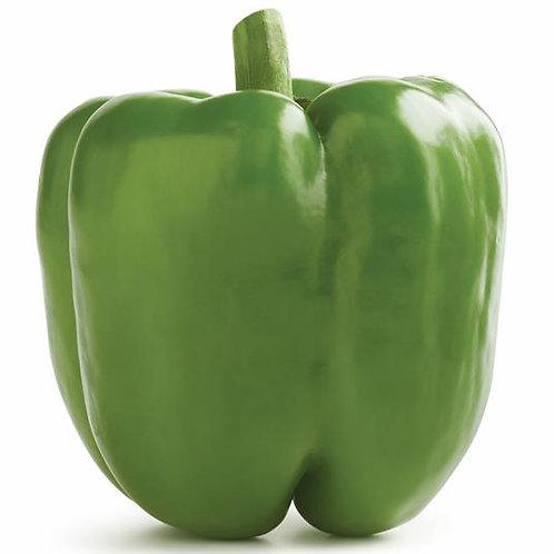 Green Pepper (order by piece, sold by weight)