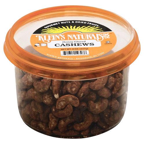Klein's Cashews Honey Glazed  8oz