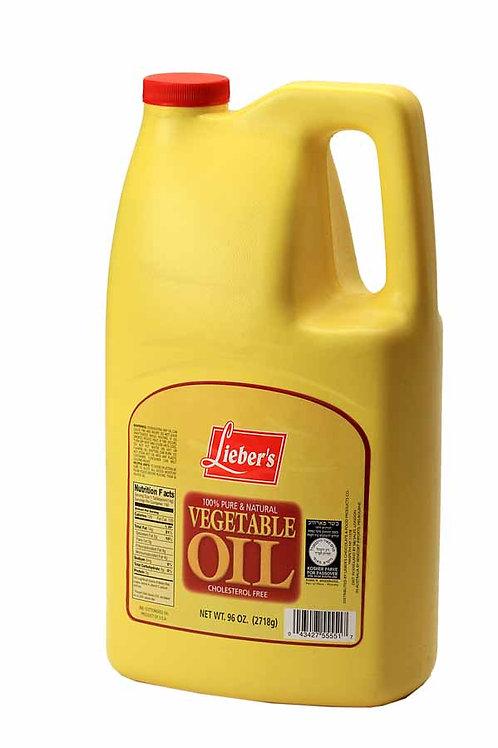 Lieber's Vegetable Oil 96 oz.