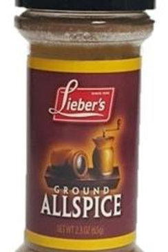 Lieber's Ground All Spice  2.3 oz.