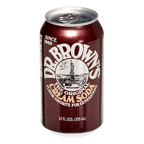 Dr Brown Cream Soda Original 12oz