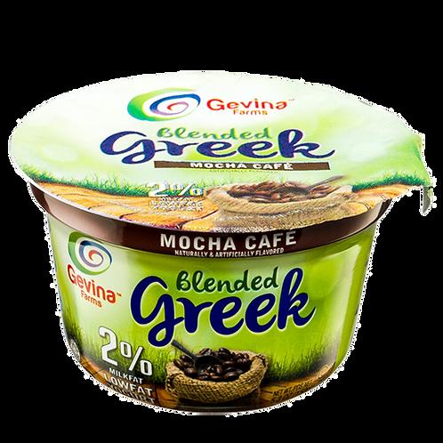 Gevina  Mocha Café  Greek Yogurt 2% Blended 5.3oz