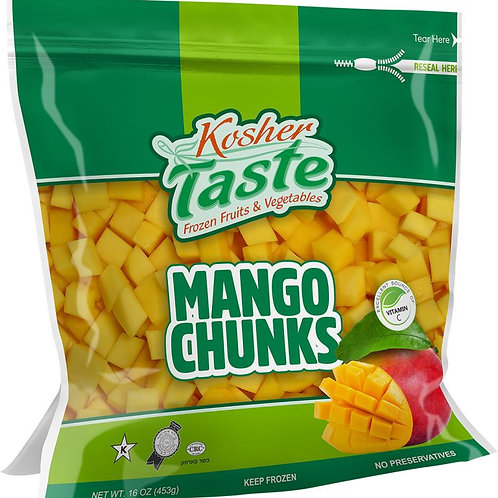 Kosher Taste Mango Chunks 16oz