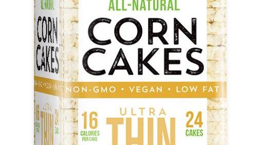 Galil Ultra Thin Corn Cakes Sea Salt 3.5 oz