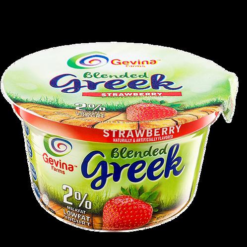 Gevina  Strawberry  Greek Yogurt 2% Blended 5.3oz