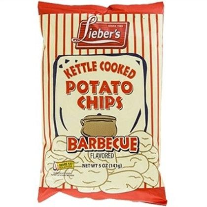Lieber's Kettle Chips BBQ 5 oz.
