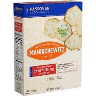 Manischewitz Crackers Everything 8oz