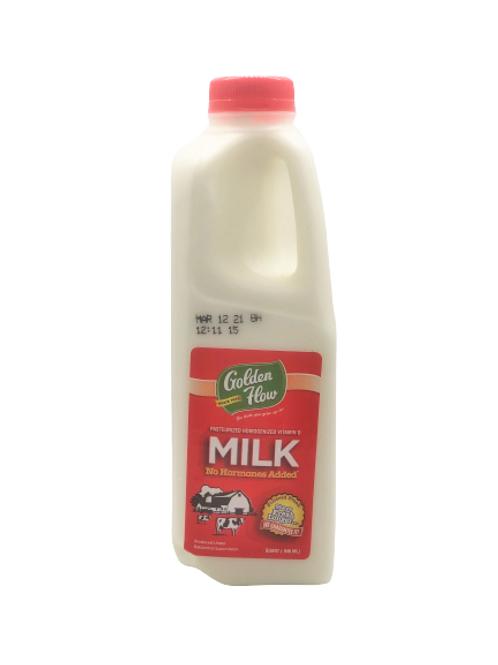Golden Flow Whole Milk Qt.