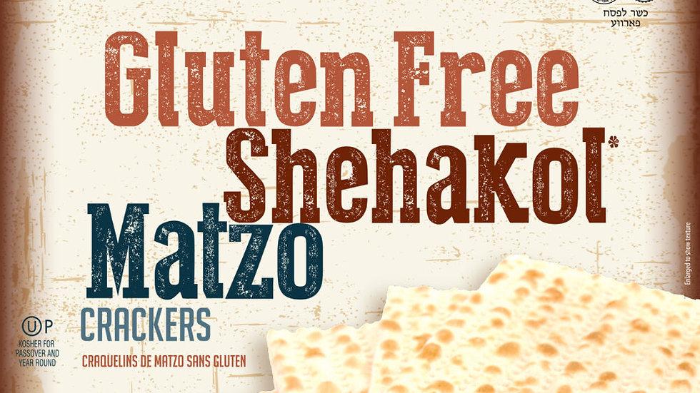 Gefen Gluten Free Shehakol Matzo Crackers 10.5oz