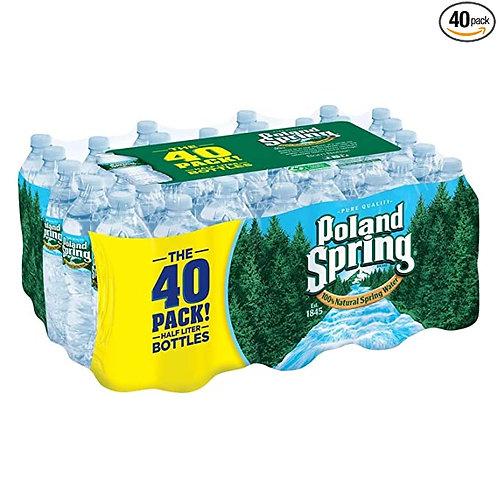 Poland Spring 40 bottles of 16.9oz
