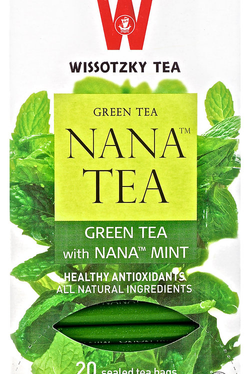 Wissotzky Green Tea With Nana